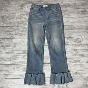PAIGE Hoxton Straight Ankle Jeans 26